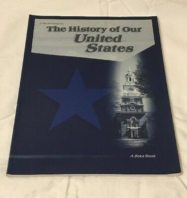 Abeka the history of our united states geographymaps and review abeka the history of our united states test quiz key grade 4 fandeluxe Image collections