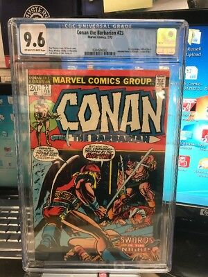 Conan the Barbarian (Marvel) #23 1973 CGC 9.6 1st RED SONJA!