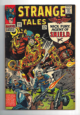 Strange Tales #142  Very Fine 8.0!   Sharp Copy!  More Listed!!