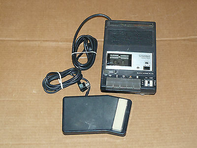 Olympus Optical Co (NEEDS WORK) Microcassette Transcriber T600 with foot pedal