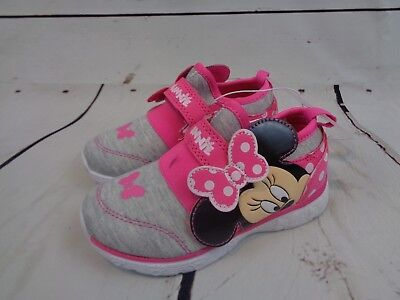Toddler Girls' Disney Minnie Mouse Jogger Low Top Sneakers - Pink - Size 10