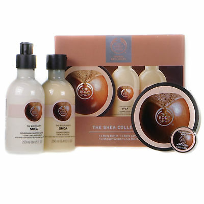 The Body Shop The Shea Collection with Body & Lip Butter Shower Cream Lotion
