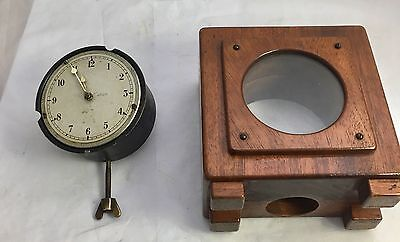 Vintage Stem Wind Smiths Classic Dashboard Car Clock No 42371 / P-64.298 WORKING