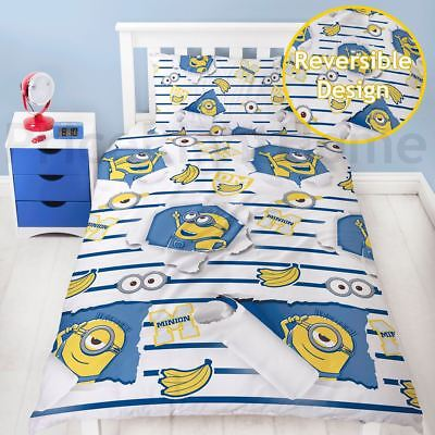 Official Despicable Me Minions Awesome Single Duvet Cover Set Rotary Boys Girls