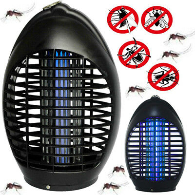 Led Socket Electric Mosquito Fly Bug Insect Trap Night Lamp Killer Zapper 220V