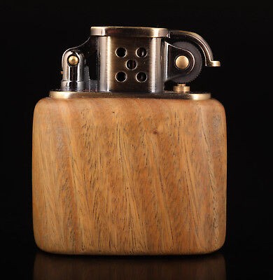 Superb Vintage Old Smoking Tool Wood Lighters Rare Collection