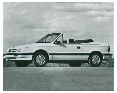 1992 Dodge Shadow Convertible Automobile Factory Photo ch4985