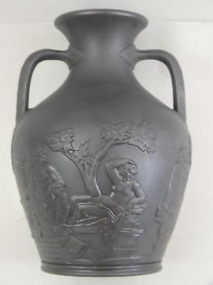 "A Wedgwood Basalt Model Of The ""portland Vase""impressed Wedgwood 19Th Century"