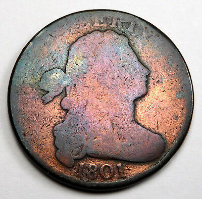 1801 Draped Bust Large Cent