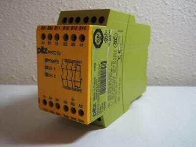Pilz Pnoz-X3-120Vac/24Vdc Safety Relay New