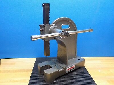 "Jet Single Leverage Arbor Press 2 Ton Pressure 7-1/2"" Throat Capacity 333620"