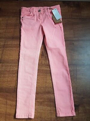 Girls Next Coral Skinny Jeans Age 9 Years BNWT
