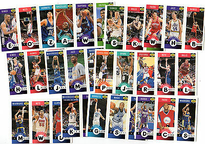 1996-97 C.choice International French Nba Mini Cards Set ( 30 Cards)