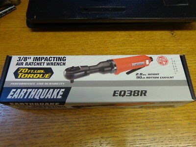 """Central Pneumatic Earth Quake 3/8"""" Impacting Air Ratchet Wrench 68426 - New"""