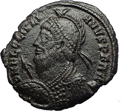 JULIAN II the APOSTATE Philosopher 361AD Authentic Ancient Roman Coin i69768