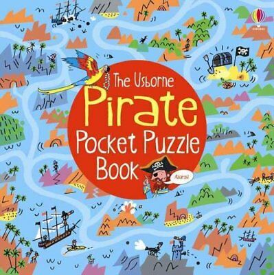 Pirate Pocket Puzzle Book by Alex Frith (Paperback, 2014)