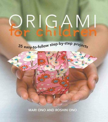 Origami for Children Book & Paper Pack with 35 Projects 9781906525804