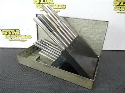 "Cleveland Hss Chucking Reamer Index W/13 Reamers .3135"" To .501"" Cle L-I"