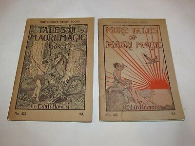 Tales of Maori Magic & More Magic by Edith Howes Whitcombe's Story Books
