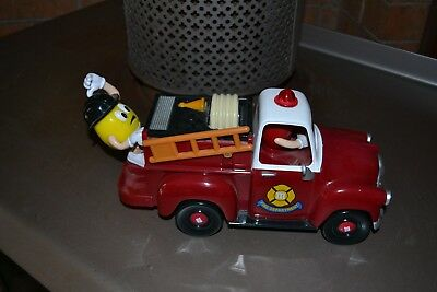 M&M Fire truck Dispenser- Collectable - Limited Edition