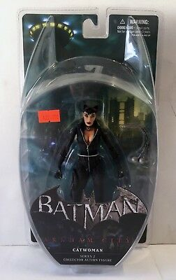 "Batman Arkham City Series 2 Catwoman 6"" Action Figure NEW & MOC DC Comics"
