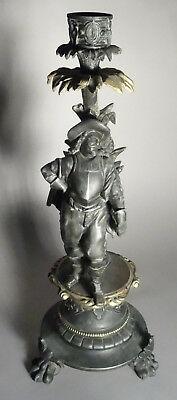 Musketier *Mousquetaire * Musketeer * 17. Jhd., Bronze-Figur