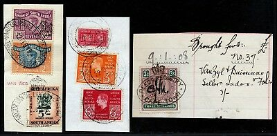 South Africa Early Kgvi Revenues Used On Piece.      A660