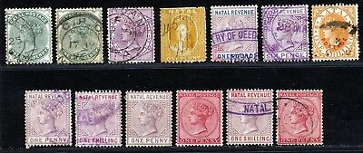 South Africa Victoria Natal Revenues Fine Used Lot.      A647