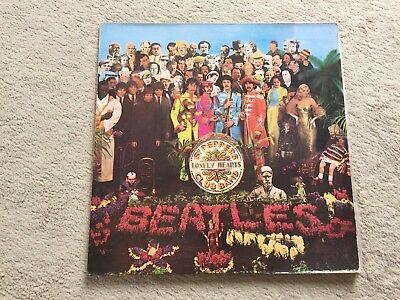 """12"""" LP - The Beatles - Sgt. Peppers Lonely Hearts Club Band - 064 1041771 -Spain"""