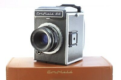 CORFIELD 66 6x6 120 Medium Format Camera w/ LUMAX 95mm + 6x6 back and Case