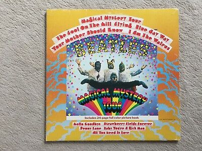 """12"""" LP - The Beatles - Magical Mystery Tour - PCTC 255 - inkl. Picture Booklet"""
