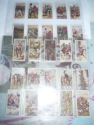 set of 25 cigarette cards original  john player and sons victoria cross 1914