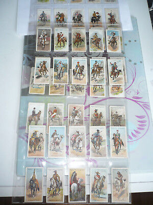 set of 50 original cigarette cards john player and sons riders of the world 1905