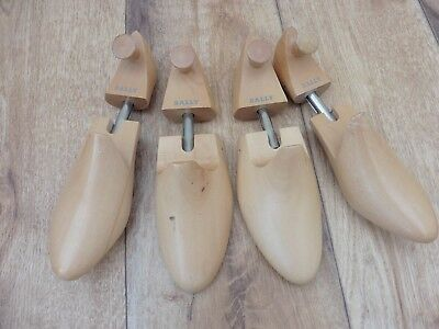 Super quality Bally size 4 (two pairs) unisex wooden shoe trees,English made