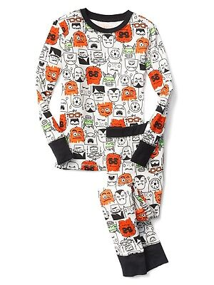 nwt gap kids boys pajamas pjs halloween monsters you pick size