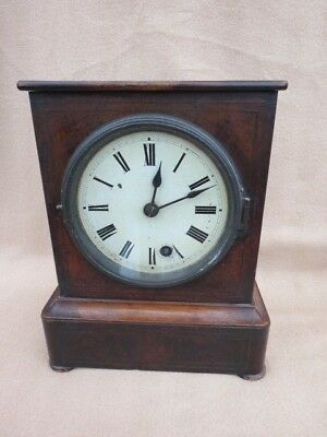 Antique Good Quality German Timepiece Mantel Clock