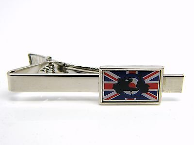 d5214778ff5c Mod Scooter Target Uk Flag Tie Clip Pin Badge Mens Gents Novelty In Gift  Pouch