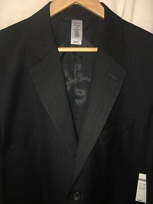 New With Tags Claiborne Luxe Modern Fit Wool Jacket Blazer 42R $189