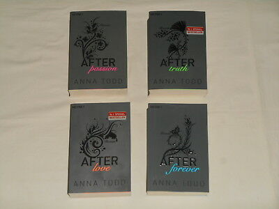 Anna Todd, After Passion, After Truth, After Love, After Forever, Heyne 2015