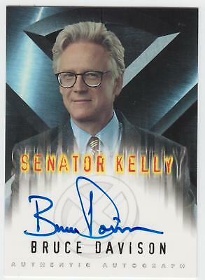 X-Men Movie Bruce Davison (Senator Kelly) Autograph Card