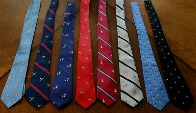 Assorted Kid's 100 % Silk Airplanes and Dogs On A New Neck Tie!42 3/8''