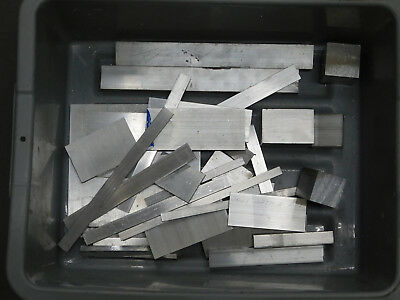 10.2 Lbs ALUMINUM 6061 SCRAP, DROPS, BAR ENDS CUT OFF FOR MELTING OR MACHINING