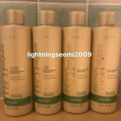 Avon~ADVANCE TECHNIQUES~Daily Shine~Leave In Conditioner x2, x3 Or x4 STOCK UP!!