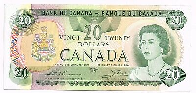 1979 CANADA 20 DOLLARS NOTE - p93a