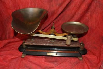 Fantastic 19th Century Henry Troemner Balance Scale Complete With Weights