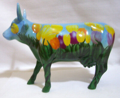 "Cow Parade ""The Tulip Cow"""