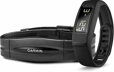 Garmin vivofit 2 Bundle with Heart Rate Monitor, Black