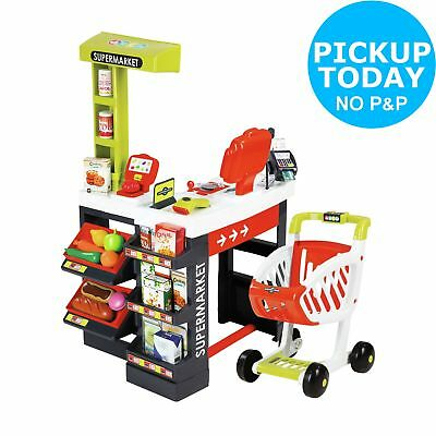 Smoby Supermarket Playset - Red.