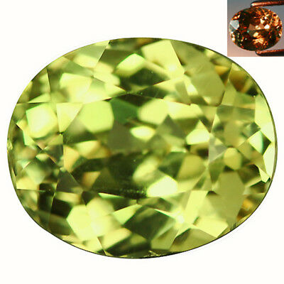 2.23Ct Significant Oval Cut 8 x 7 mm AAA Color Change Turkish Diaspore