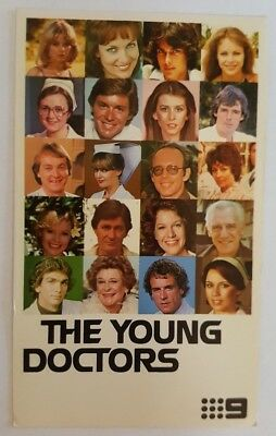 The Young Doctors Television Fan Card - Channel 9